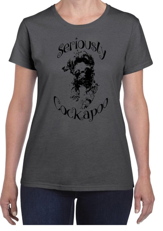 Image of #18 'Seriously Cockapoo' T-Shirt