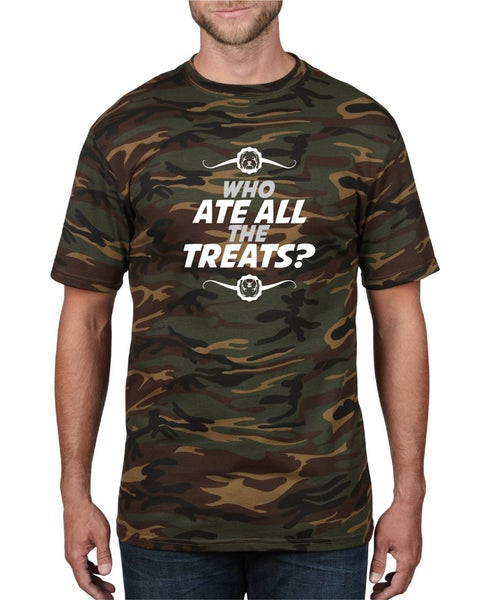 Image of #20 'Who ate all the treats?' T-Shirt