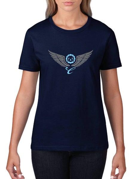 Image of #21 'Cockapoo Wings' T-Shirt