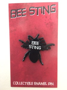 Image of Bee Sting enamel pin