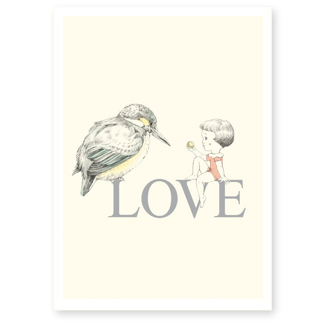 Image of Affiche A4 LOVE