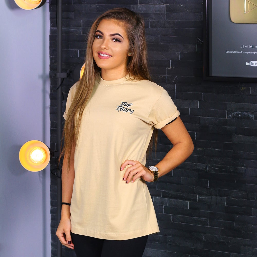 Image of True Troopa Tee in Beige!
