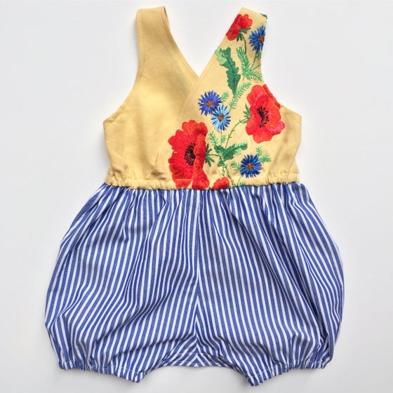 Image of Poppy Wrap Romper