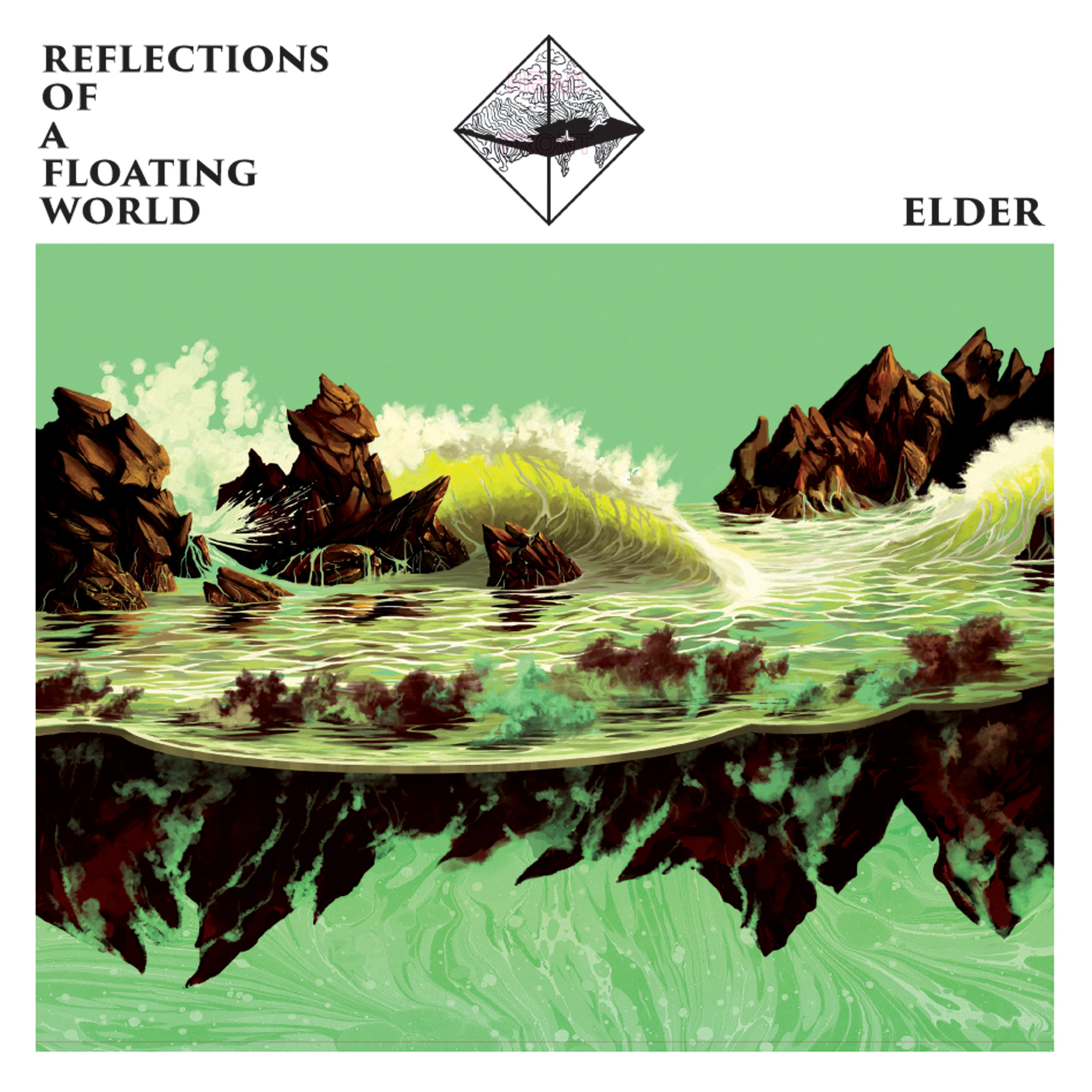 Image result for elder reflections of a floating world