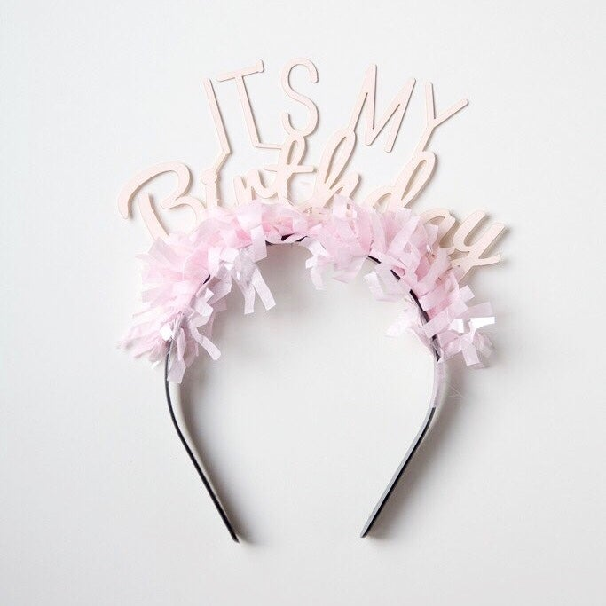 Image of Party Up Top Headband:  It's My Birthday