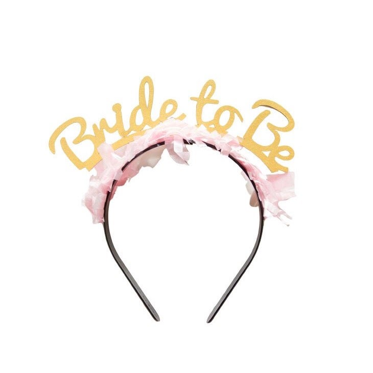 Image of Party Up Top Headband:  Bride to Be