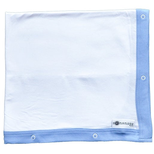 "Image of Sunsnapz Baby Blanket ""ROYAL"""