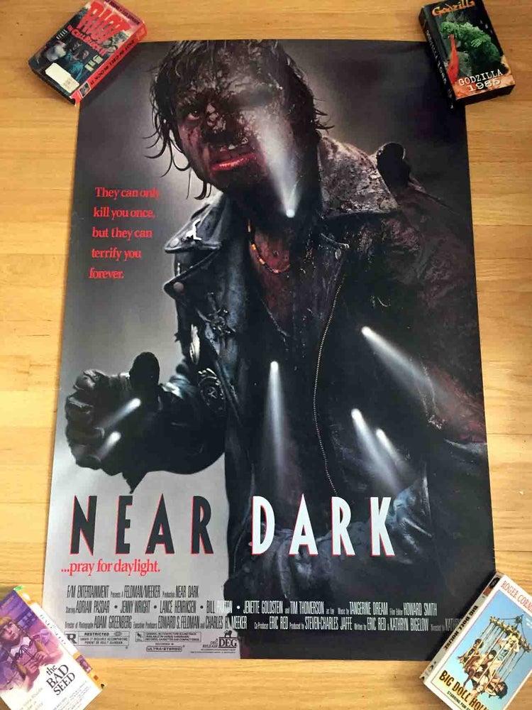 Image of 1987 NEAR DARK Original U.S. One Sheet Movie Poster