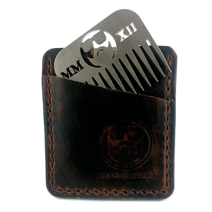 Image of Classy Wallet w/ Beard Comb