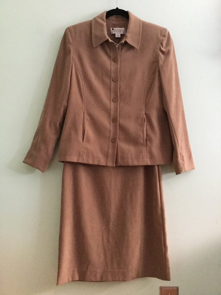 Image of bridgewater tan skirt suit