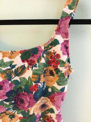 Image of floral body suit
