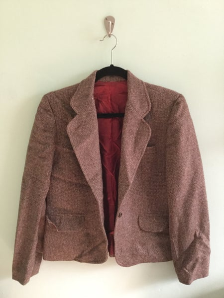Image of mauve wool jacket
