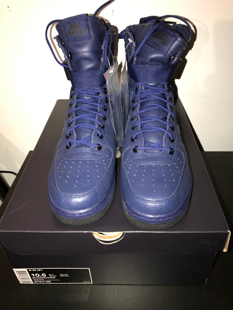 "Image of Women's Nike Special Forces AF1 ""Binary Blue"""