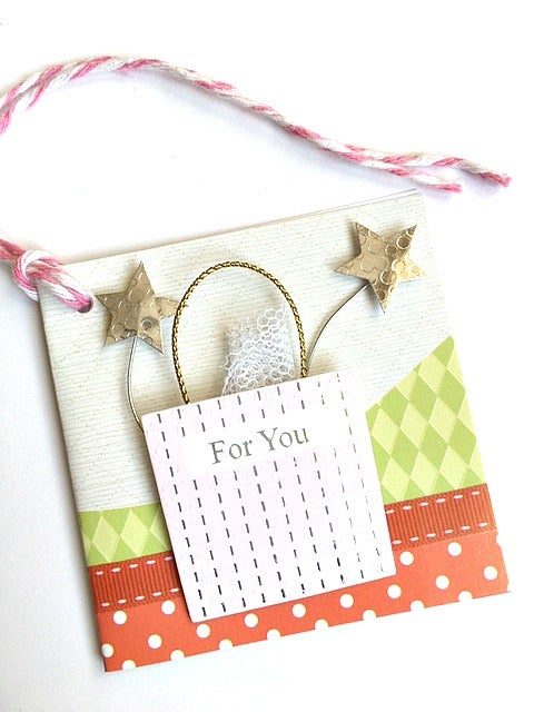 Image of happy birthday  mini card
