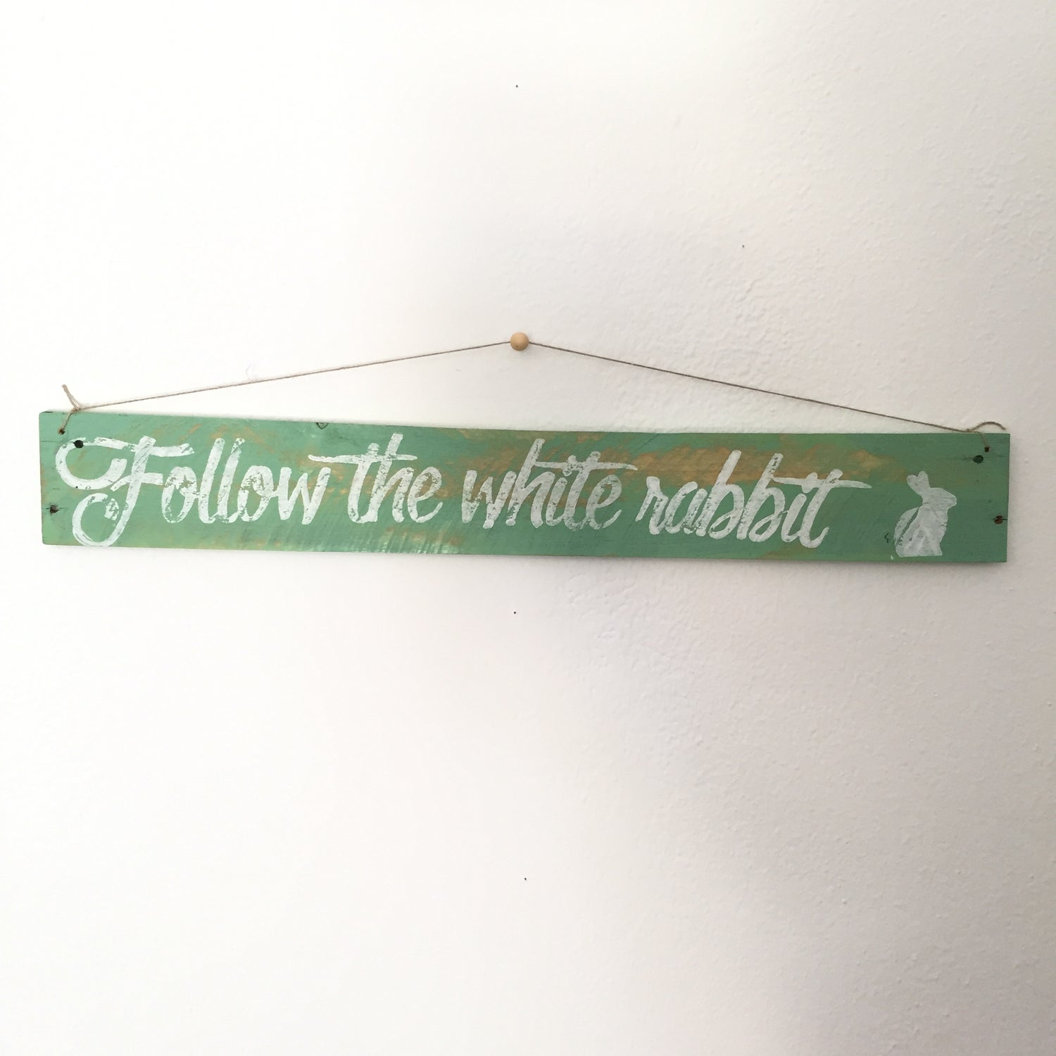 Image of Follow the white rabbit