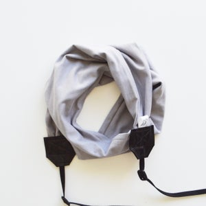Image of Camera Strap Scarf Soft Knit Photographer Gift 2017