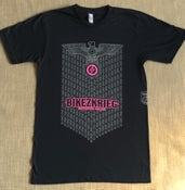Image of BIKEZKRIEG TEE - black/white