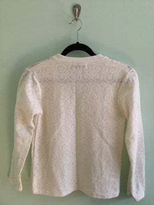 Image of dainty white cardigan