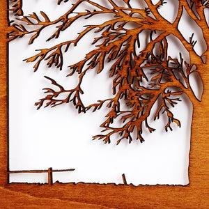 Image of Tree Silhouette Scene