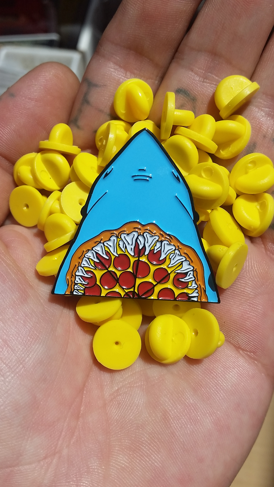 Image of PIZZA JAWZ 1.5 INCH PIN