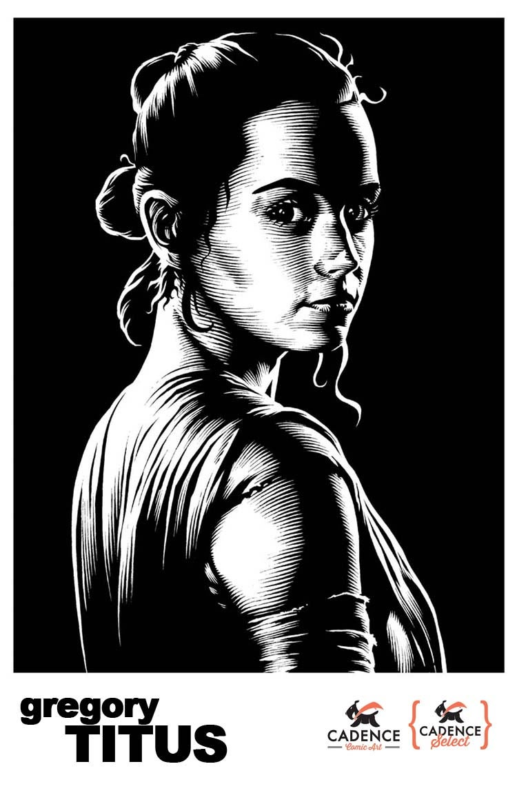 Image of Star Wars Black Series Artist, Gregory Titus / Commission (Mail Order)