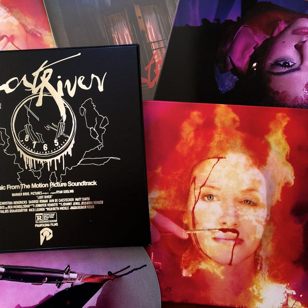 "Image of JOHNNY JEWEL ""Lost River"" OST 3xLP Box Set On 180 Gram Deep Purple"