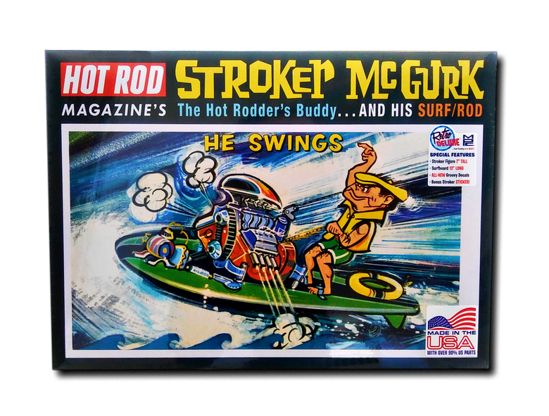 "Image of They're Back! New Stroker ""Surf Rod"" Model Kits"