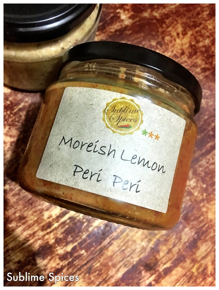 Image of Moreish Lemon Peri Peri Sauce 3rd place 2017