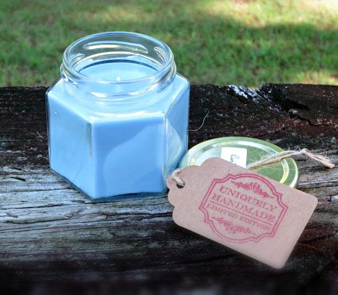 Image of Carolina Blue 4 oz Soy Candle