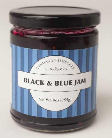 Image of Black & Blue Jam, 9oz jar