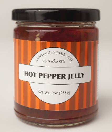 Image of Hot Peper Jelly, 9oz Jar