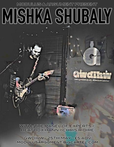 Image of Mishka Shubaly - Gwdihw, Cardiff - 25/5/2017