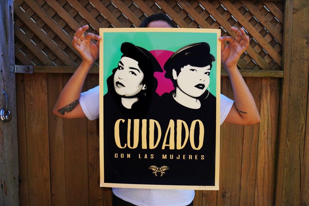 Image of Cuidado Con Las Mujeres Digital Print