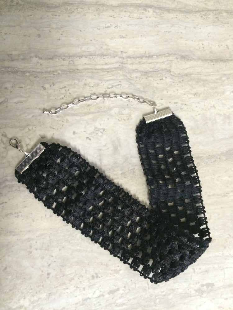 Image of BLACK STRETCHY CHOKER