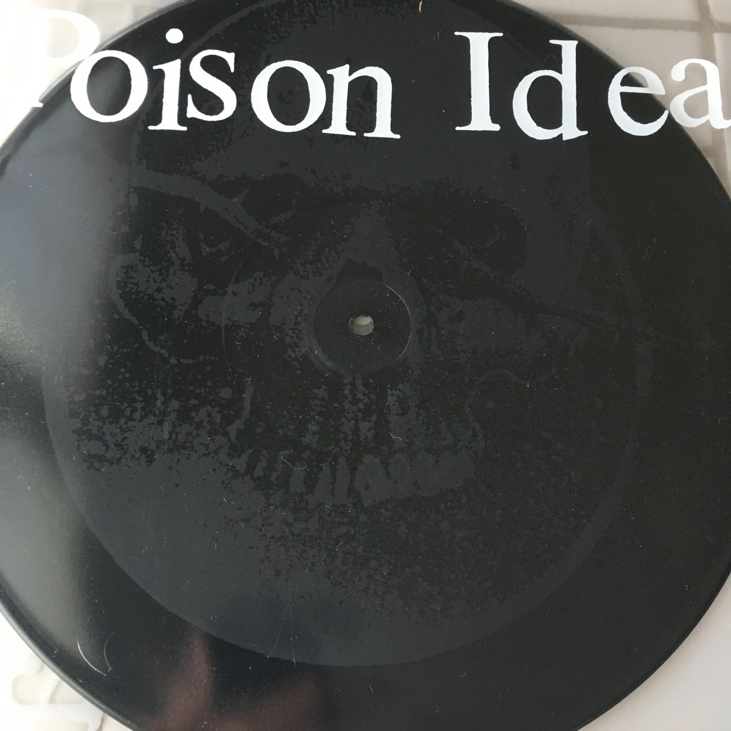 """Image of Poison Idea-""""Calling All Ghosts"""" 12"""" ep with etching 2016"""