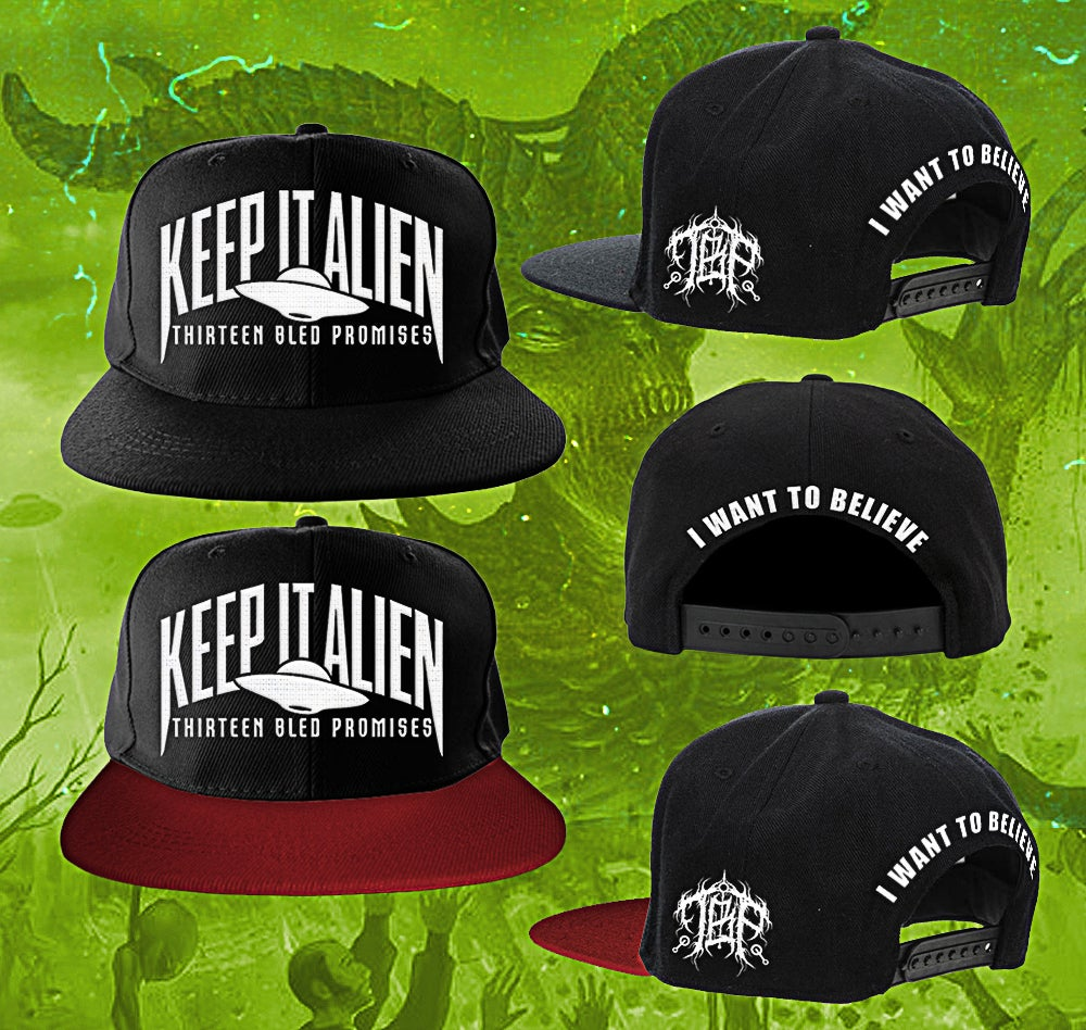 Image of Keep It Alien Snapback