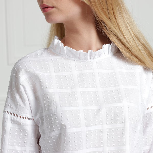 Blouse Claudia plumetis - Maison Brunet Paris