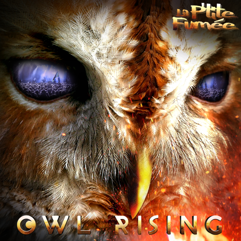 "Image of CD Nouvel album ""OWL RISING"""