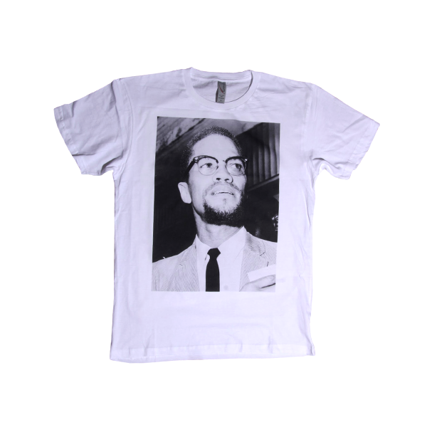 Image of Malcolm X Photo T-Shirt