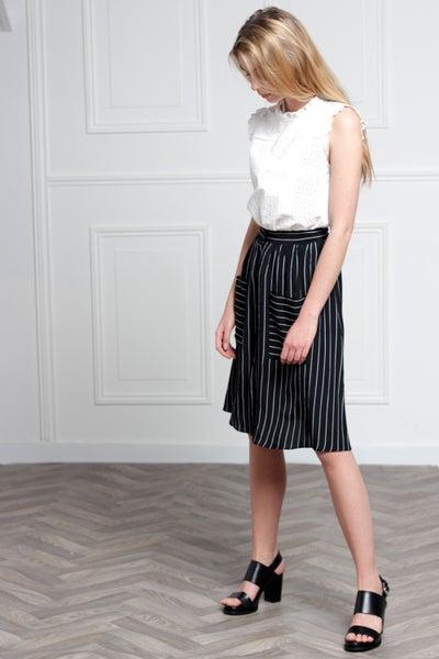 Jupe Lili Noire - Maison Brunet Paris