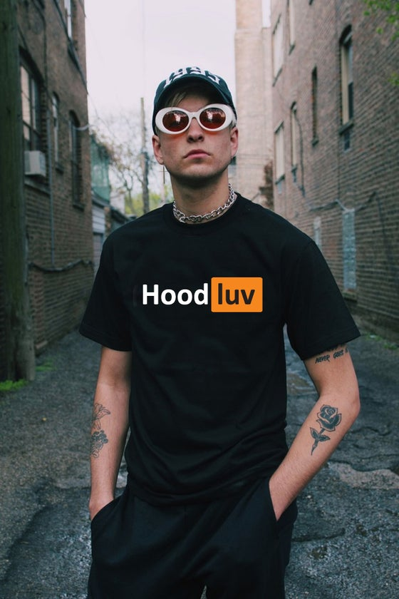 "Image of ""Hood Luv"" Black T-Shirt"