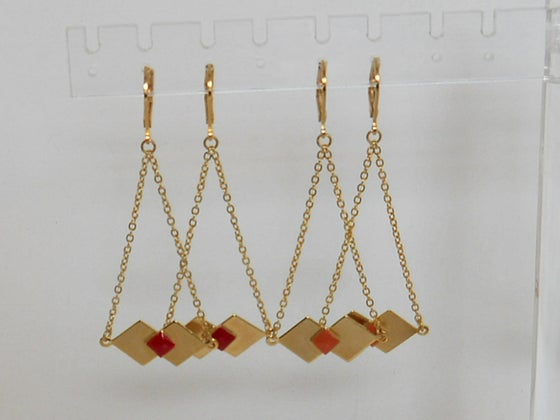 Image of ORIGAMI - Boucles d'oreilles