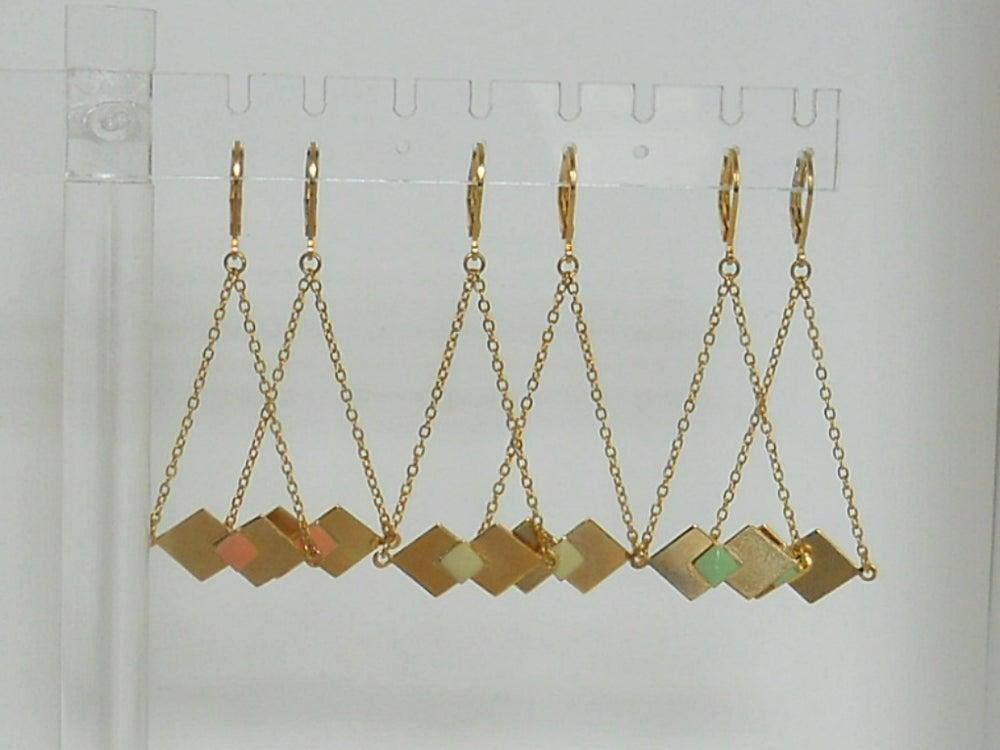 Image of ORIGAMI - Boucles d'oreilles