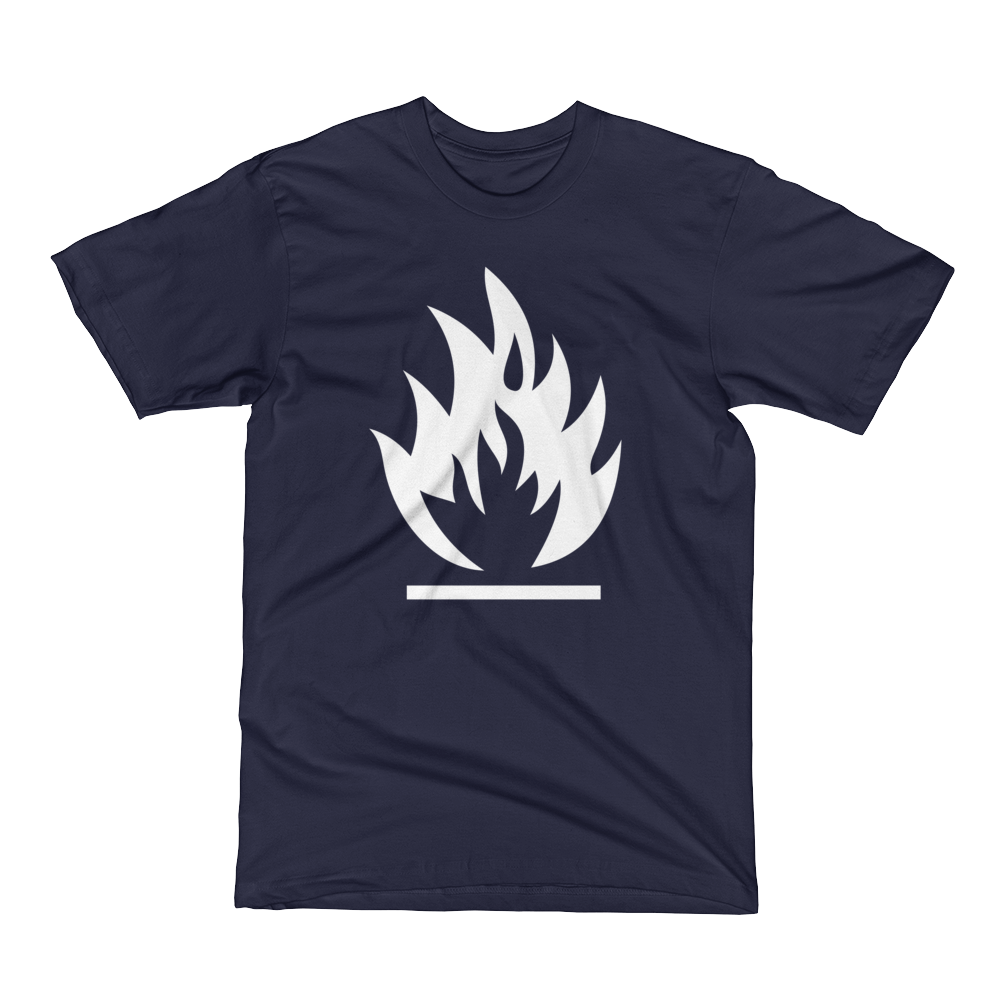 Image of The Retro Heretic T-Shirt Navy (Unisex)