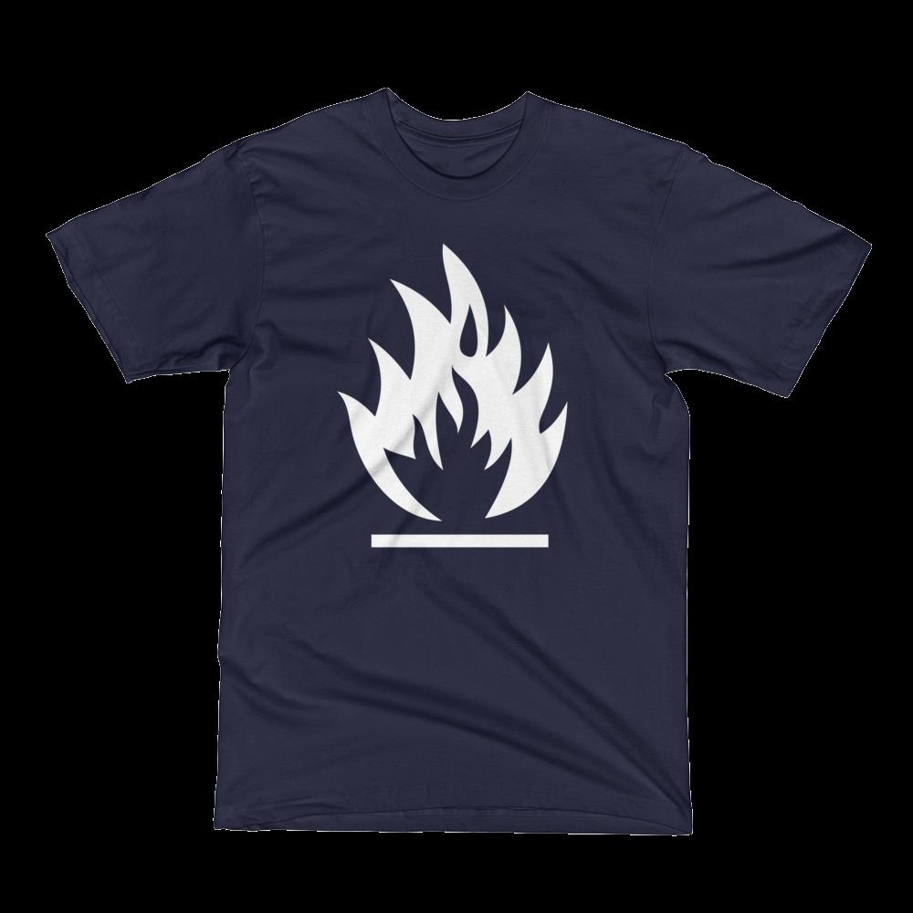Image of The Retro Heretic T-Shirt Navy (Unisex)