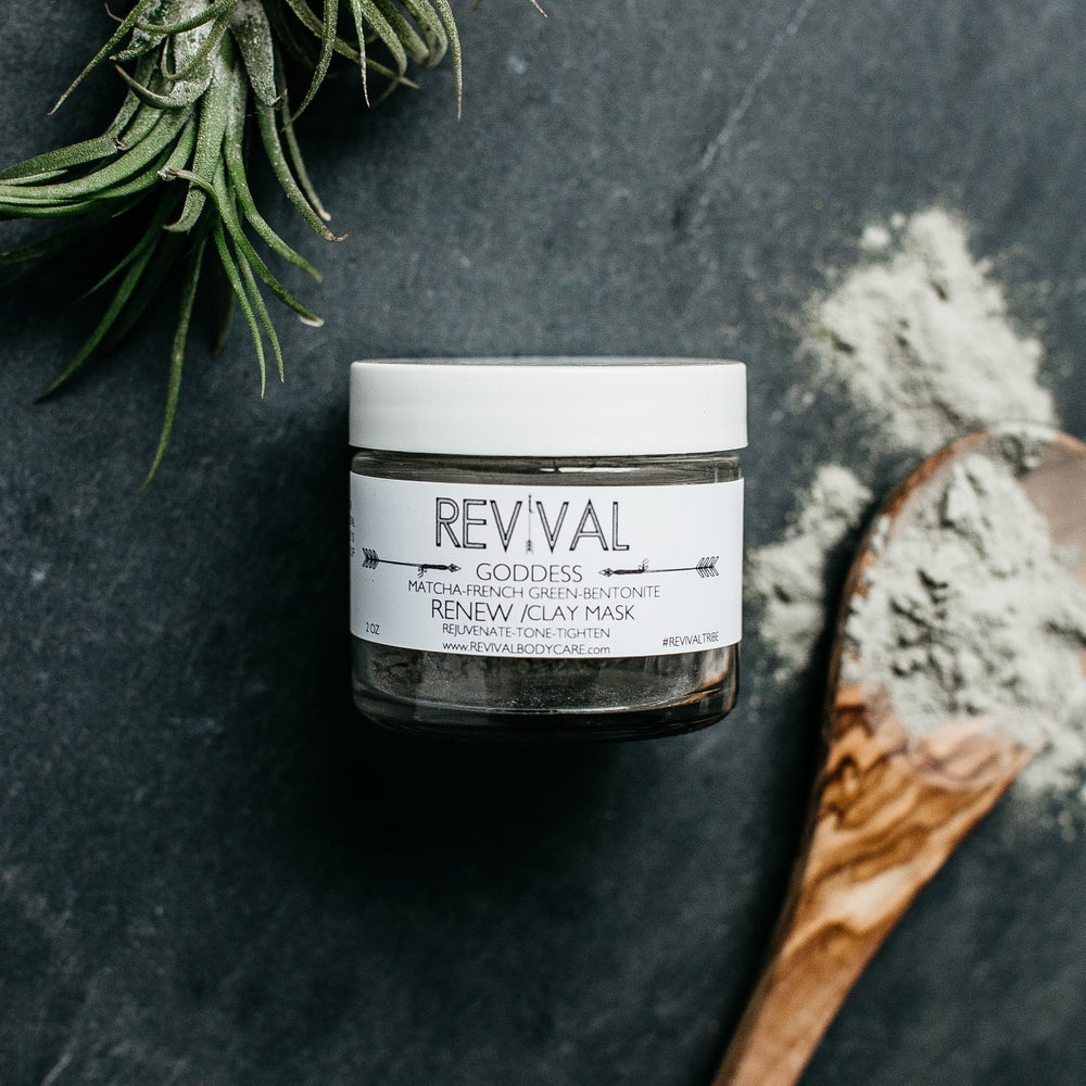 Image of GODDESS CLAY MASK-RENEW