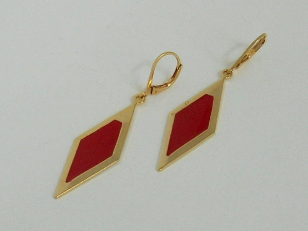 Image of GRAND LOSANGE - Boucles d'oreilles