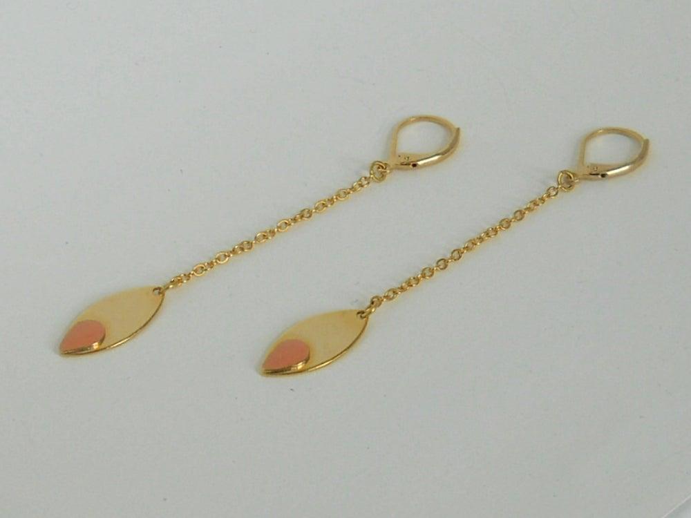 Image of MINI MAGNOLIA - Boucles d'oreilles (version 1)