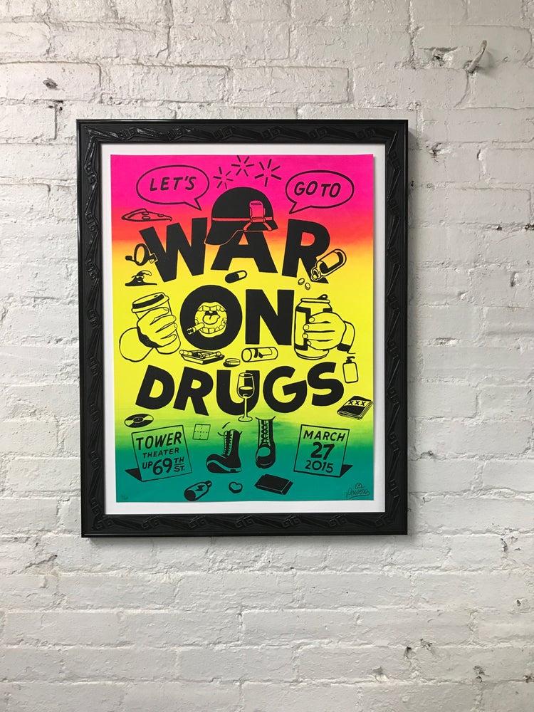 Image of framed Steve Powers print