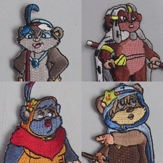 Image of Female Ewok set (4 patch)